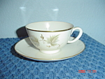 Noritake Fantasia Ivory China Cups And Saucers