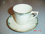 Noritake Ivory China Berringer Cups And Saucers