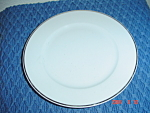 Rosenthal White/silver Salad Plates
