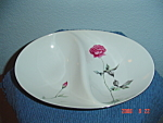 Sango Tea Rose Divided Serving Bowl