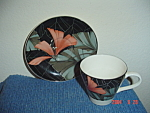 Sango Artistica Cups And Saucers