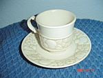 Metlox Vernon Antiqua Cups And Saucers