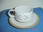 Wedgwood Midwinter Marin Cups And Saucers