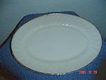 Fire King Anniversary Swirl Oval Platters