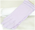 Orchid Color Dress Gloves