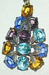 Multi-colored Pendant W Brilliant Stones