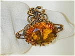 Fancy Topaz Dinner Ring - Antique