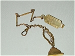 Man's Goldfilled Fob W Swivel, Slide