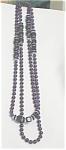 Purple Glass Beads, Round, Square, Discs