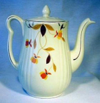 Autumn Leaf Long Spout Teapot