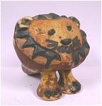 Tremar Pottery Stylized Lion