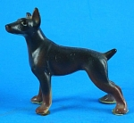 Miniature Bone China Doberman