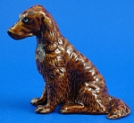 K1391 Sitting Irish Setter