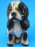 1960s Japan Ceramic Big Eye Cocker Spaniel