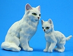 1950s/1960s Lipper And Mann Persian Cat And Kitten