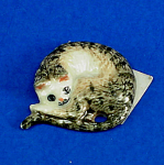 K851 Flat Stick-on Decoration Cat