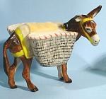 K9561a Donkey With Baskets