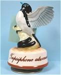 Small Ceramic Bird Music Box