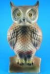 Large 1960 Ceramic Yard Owl
