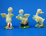 Resin Duckling Trio