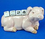 K258 Pig Calendar