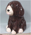 Ceramic Brown Sheepdog