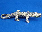 T112 Miniature Metal Alligator
