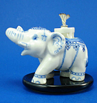 K587 Miniature Elephant Oil Lamp