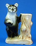 1950s/1960s Bear With Tree Stump Toothpick Holder