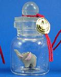 Miniature Elephant In A Bottle