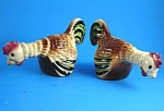 California Cleminsons Rooster Salt And Pepper Shaker