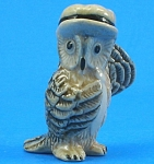 K0891 Owl With Hat And Tie