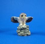K4841 Owl On Rock