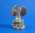 K4841 Owl On Rock