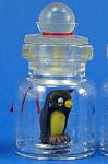 Miniature Owl In A Bottle