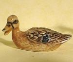 X0911b Tiny Mallard Duck Hen