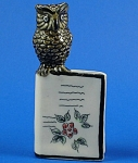 E270 Owl On Book