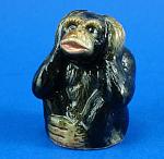 K999 Hear No Evil Chimp Figural Thimble