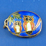 Miniature Enamel Metal Locket