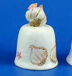 Handpainted Ceramic Thimble - Garlic