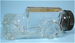 Glass Candy Container Car