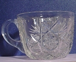 Cut Crystal Punch Glass Cup
