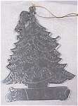 Metal Christmas Tree Ornament
