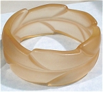 Unmarked Wide Plastic Bangle