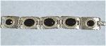 Southwest Style Silvertone Bracelet