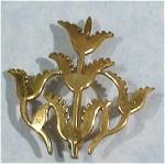 Charbu Flower Pin
