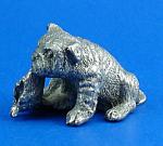 Cat Designs Miniature Pewter Bulldog