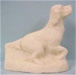 1930s/1940s Stone Dust Resin Setter Dog