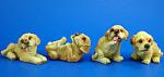 Miniature Lab Puppy Set Of Four