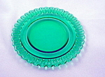 Christmas Candy Terrace Green 6 Inch Plate